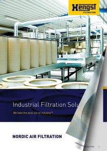Industrielle Luftfiltration - Nordic Air Filtration